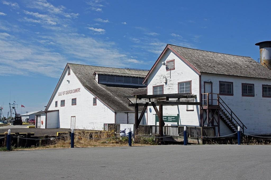 Steventson, alte Fischkonservenfabrik