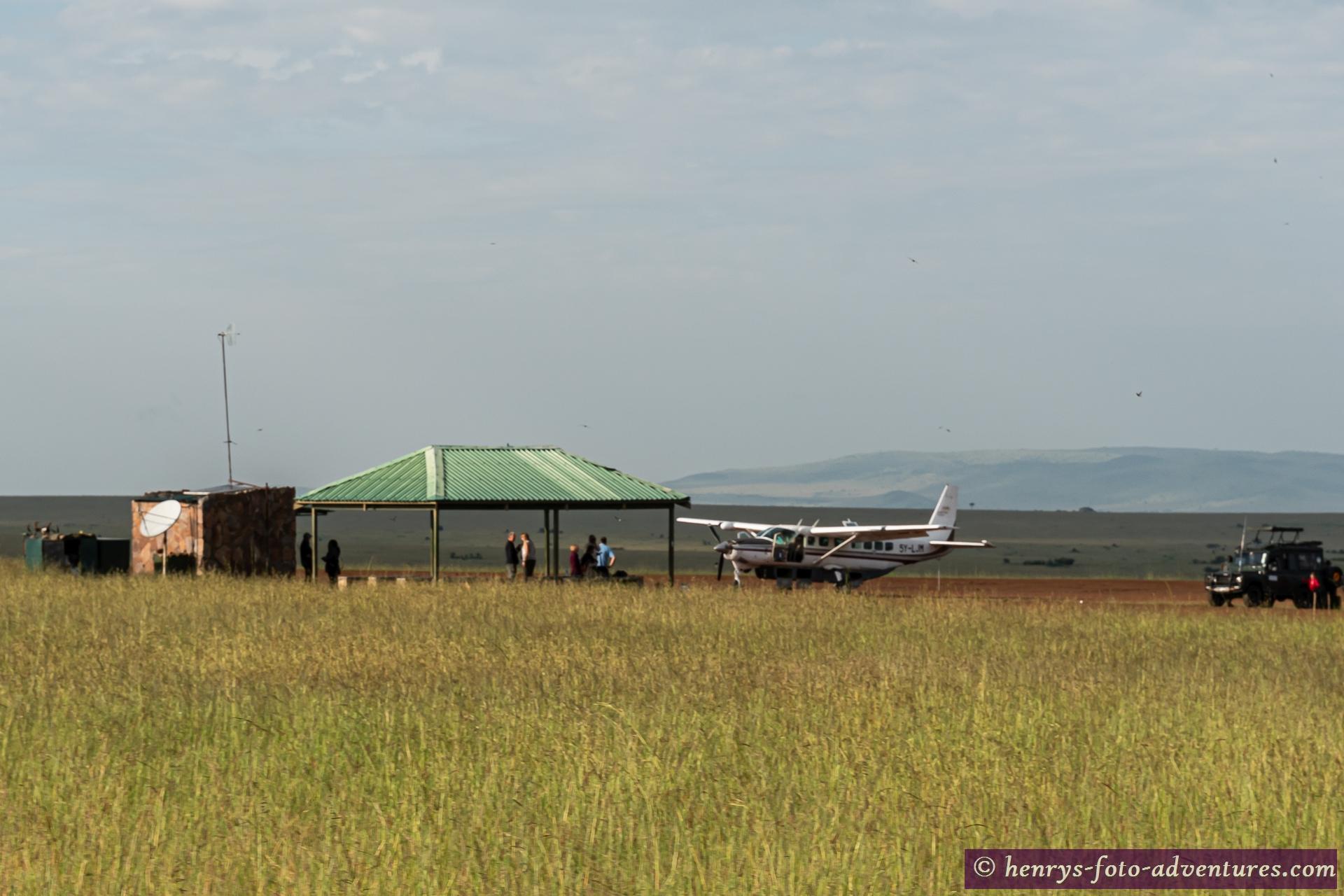 Flughafen für Touristen mit wenig Zeit und viel Geld