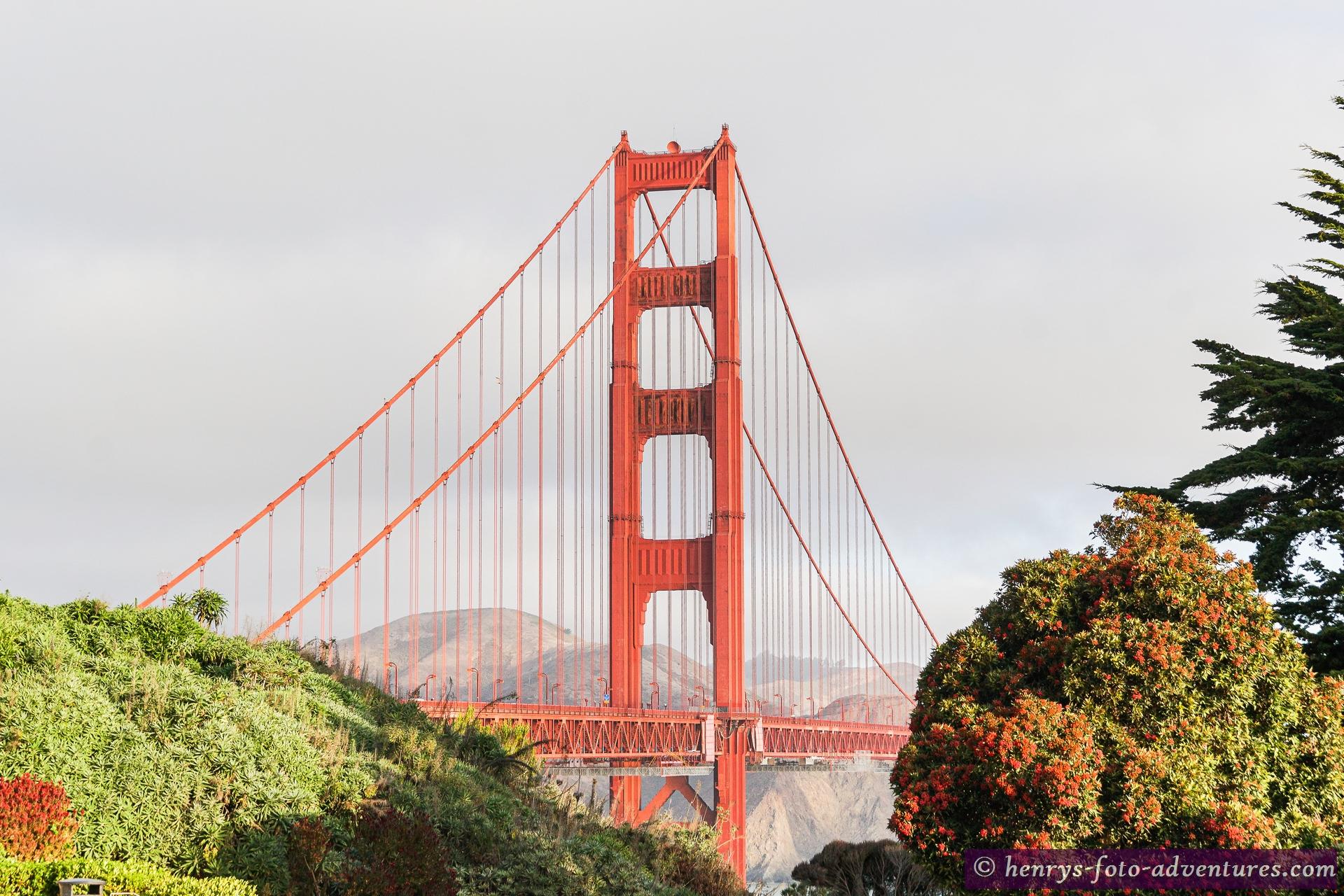 die wohl bekannteste Hängebrücke der Welt