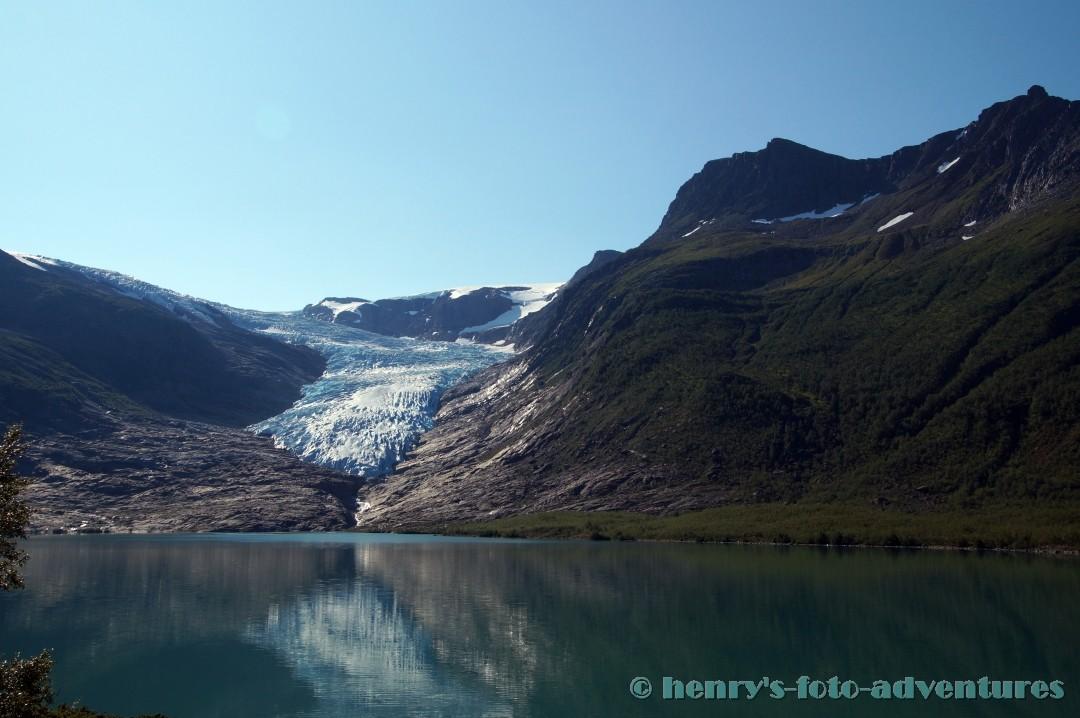 gewaltige Eismassen