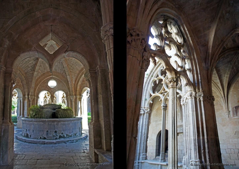 der gotische Kreuzgang