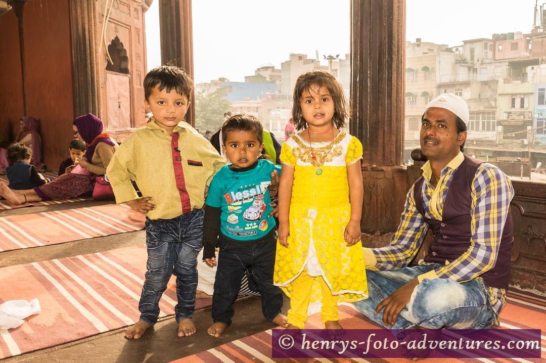 eine sehr nette moslemische Familie