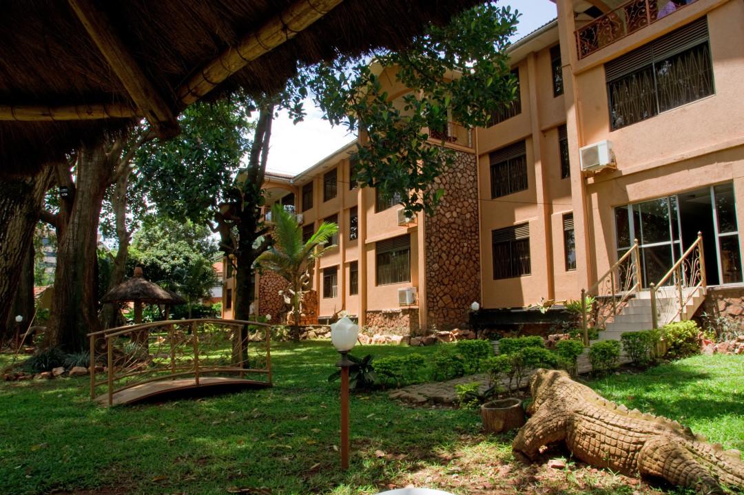 das Hotel Ruch in Kampala (nicht zu empfehlen)