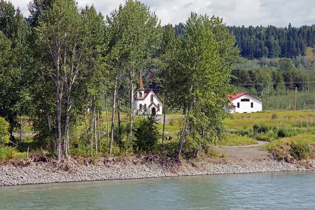 ein Dorf der Tsimshian First Nation