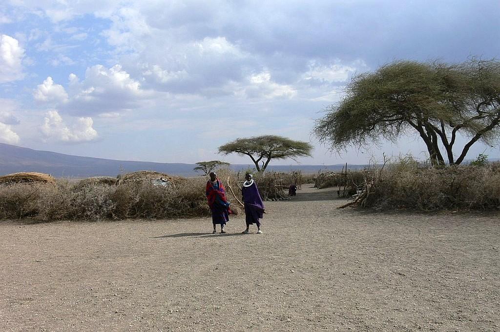 Kral der Massai