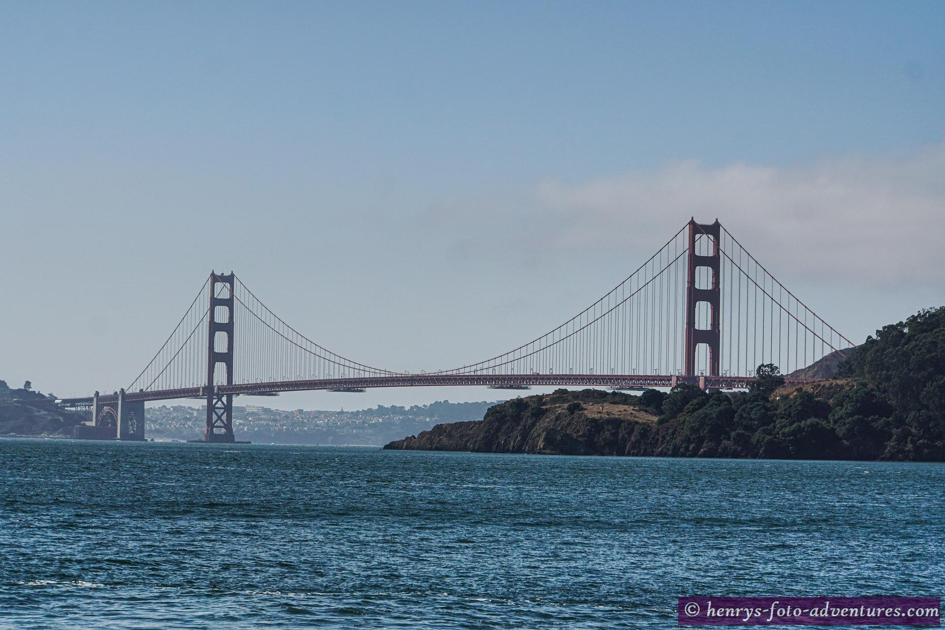 Blick auf die Golden Gate