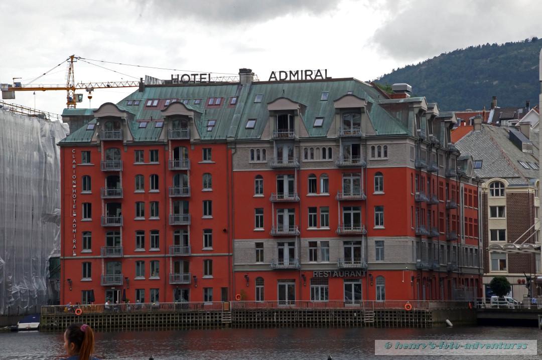 das Hotel Admiral