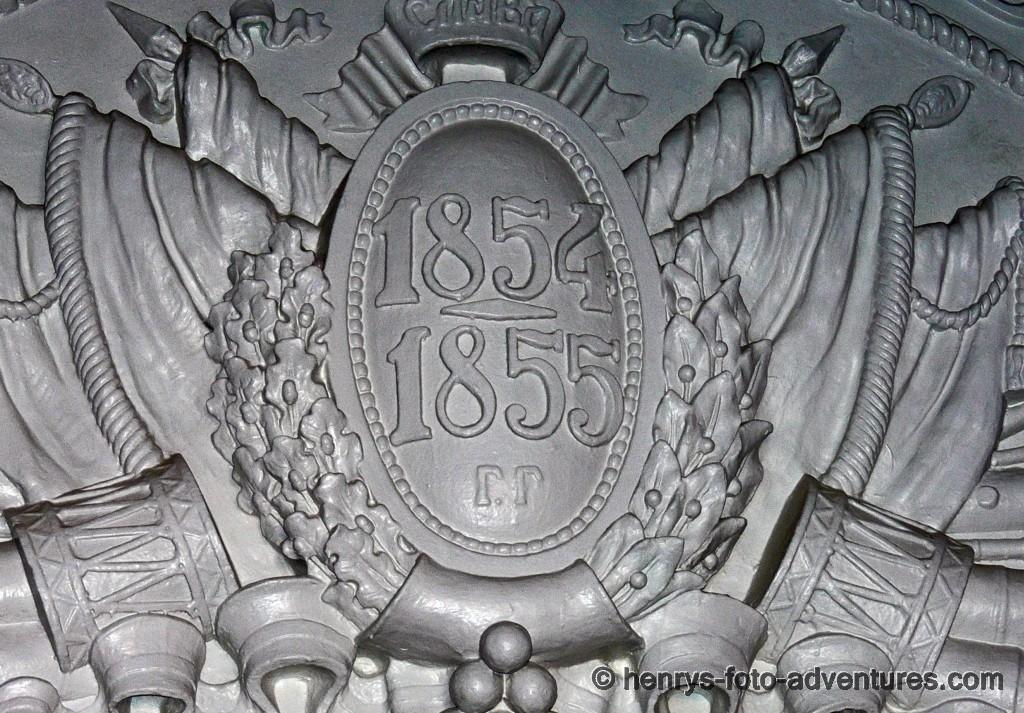 Erinnerung an den Krimkrieg 1854-1855