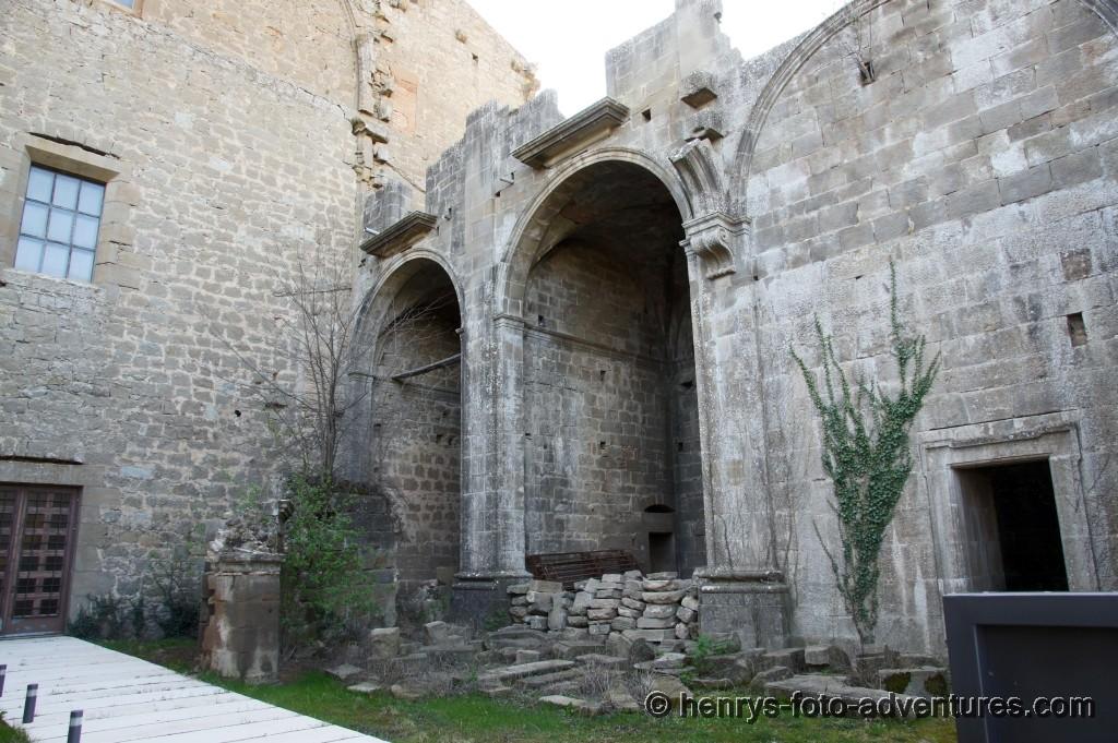 Reste von der originalen Kirche