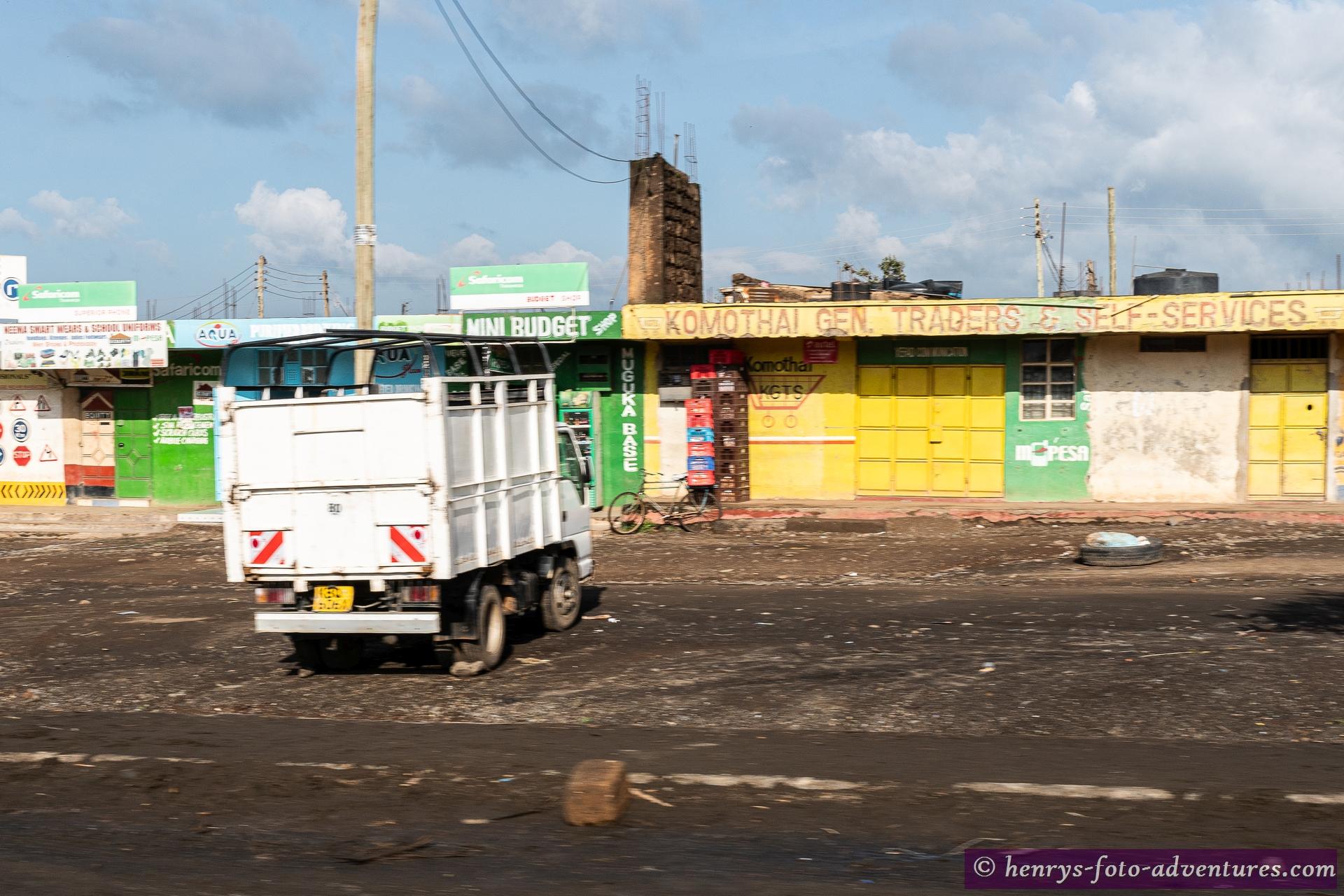 die Kleinstadt Narok