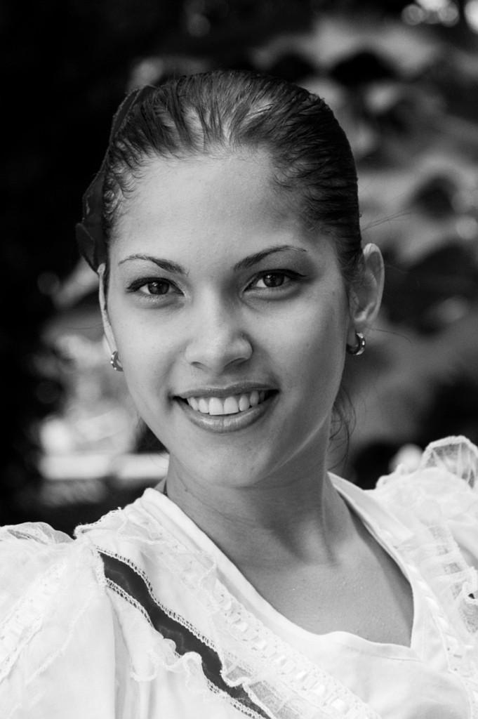 Cubanische Tänzerin