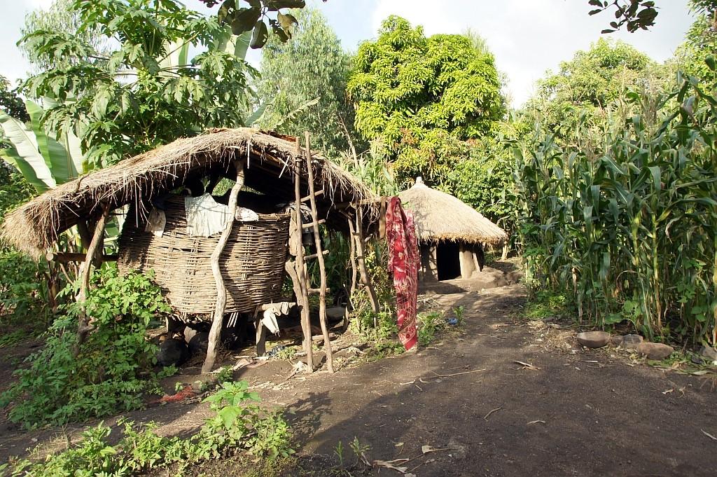 Hütten der Ari