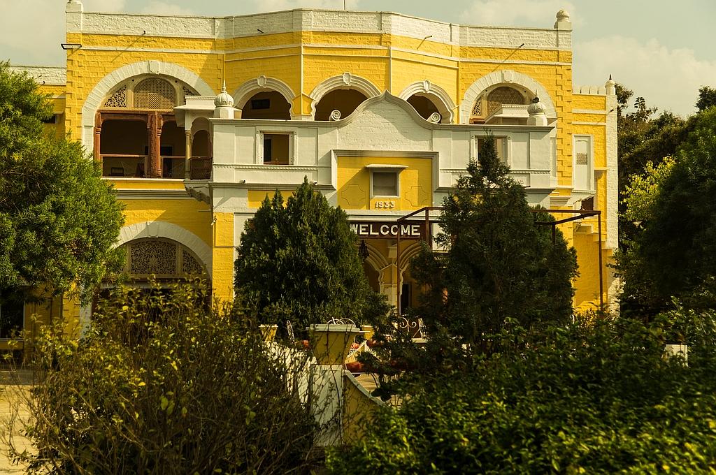 "Karauli, ""Bhanwar Vilas Palace"", ehemals Jagtschloss des Maharadjas von Jaipur"