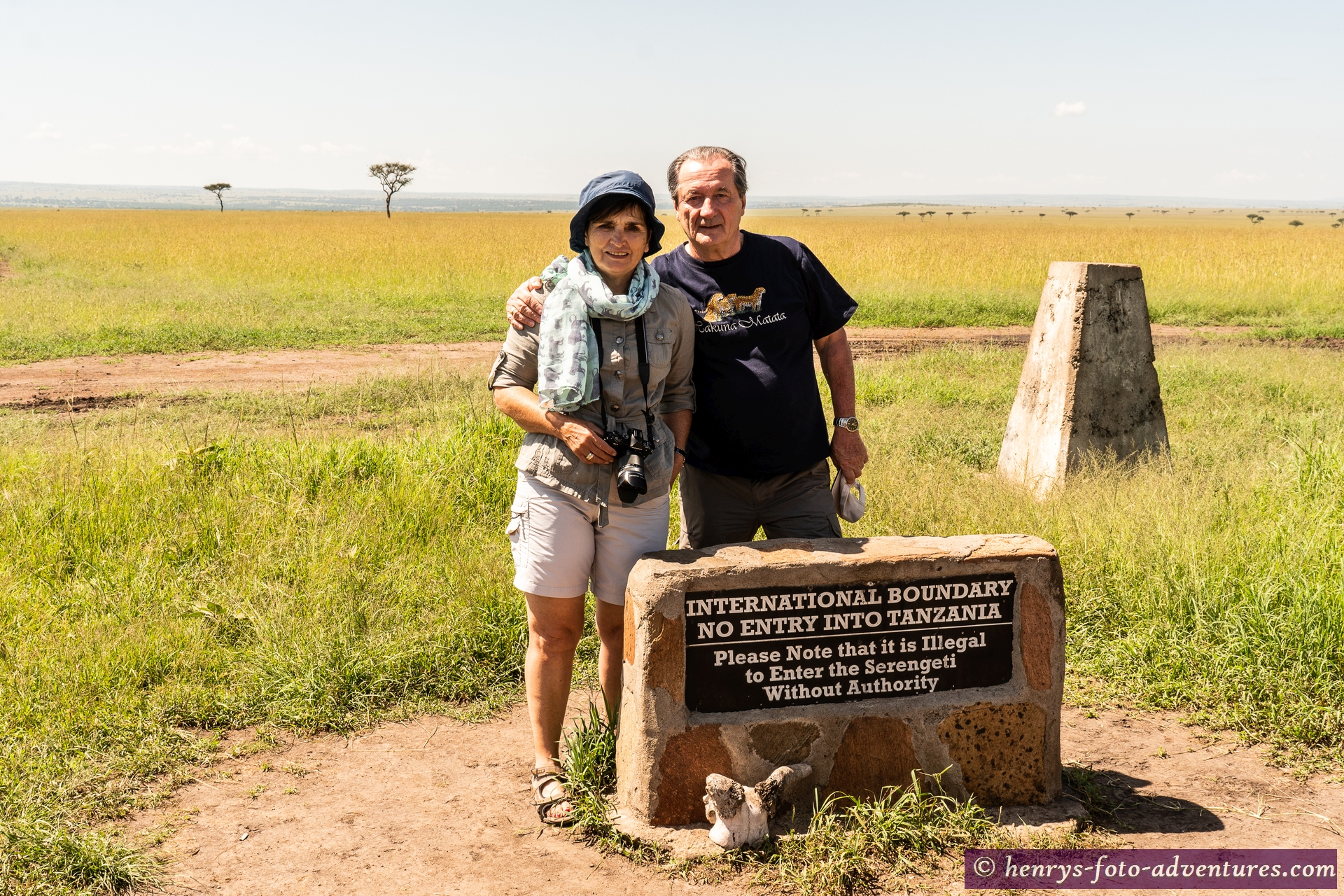 an der Grenze zur Serengeti, Tansanis