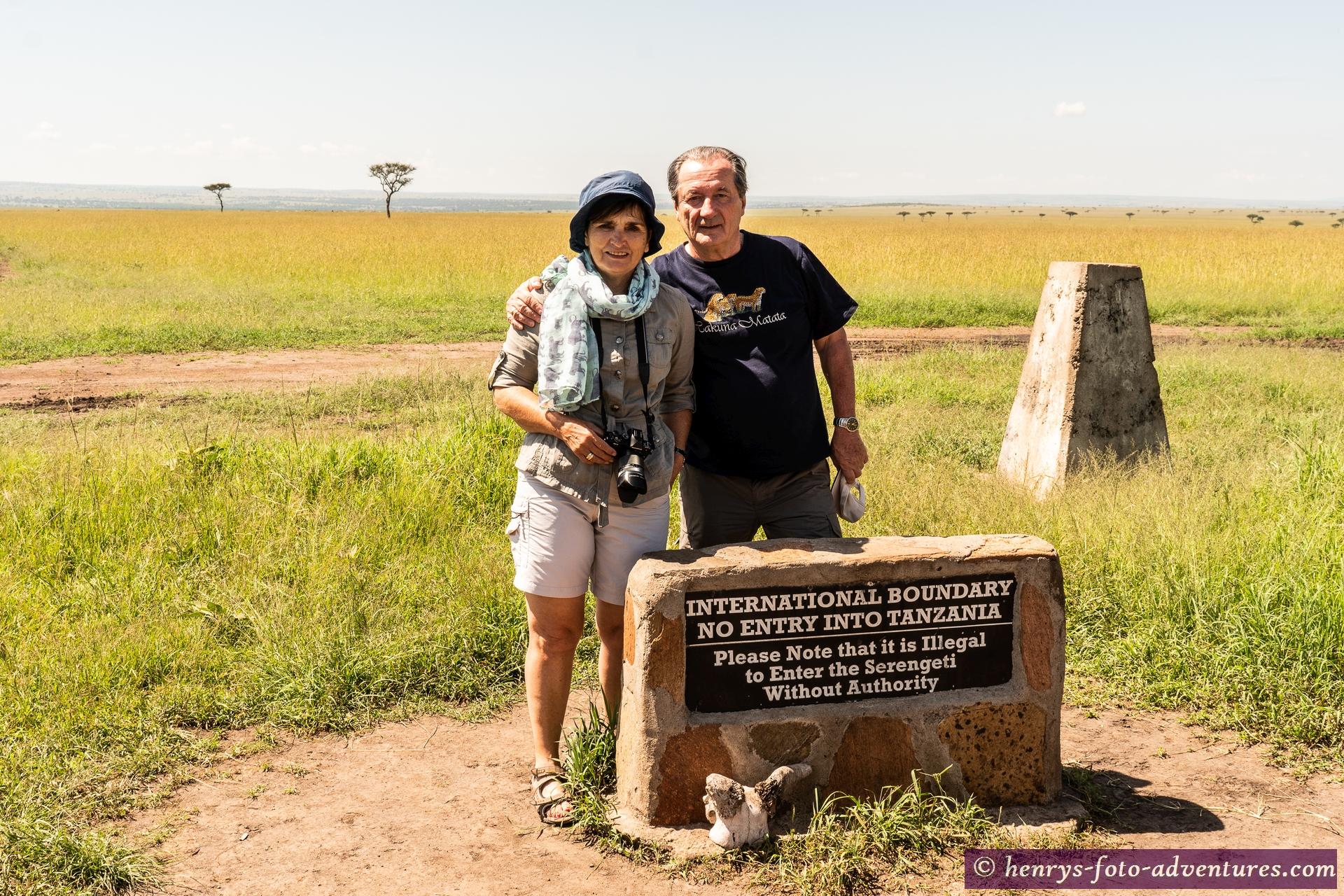 an der Grenze zur Serengeti, Tansania