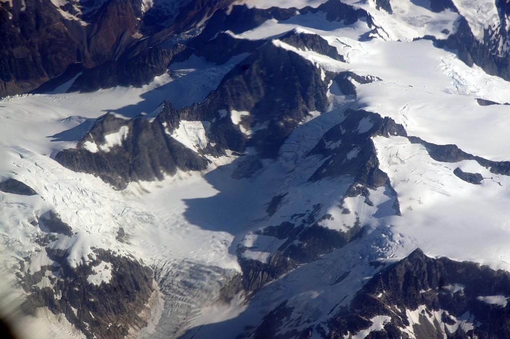 riesige Gletscher unter uns