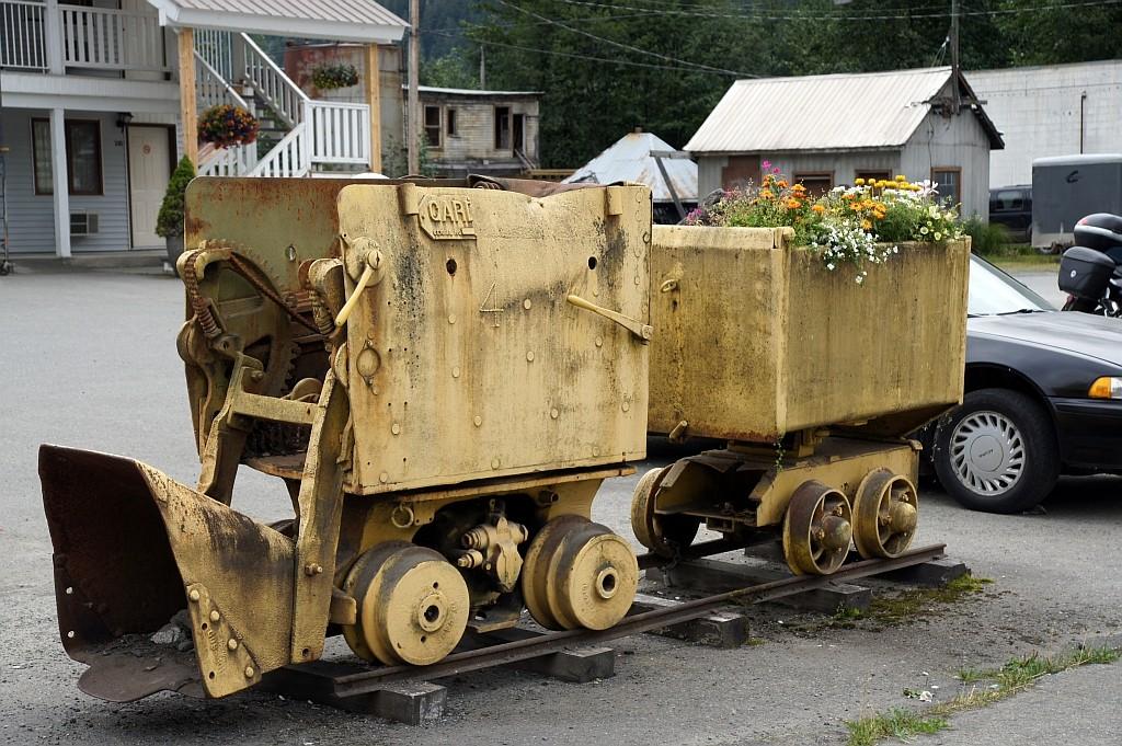 Erinnerung an goldene Bergbauzeiten