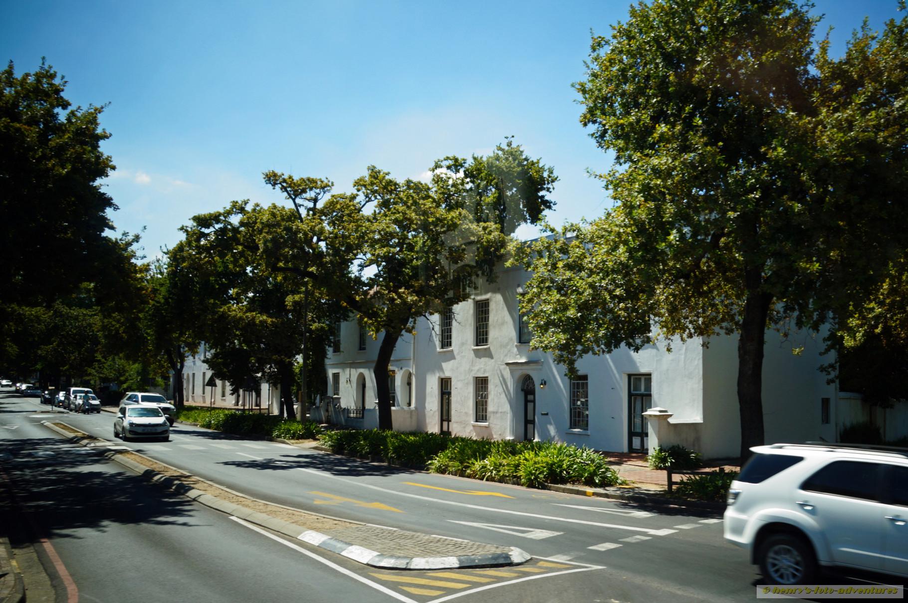 der Weinort Stellenbosch