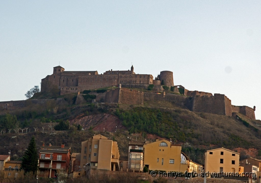 die Burg Cardona