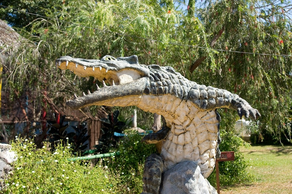 die Krokodilfarm Boca de Guama