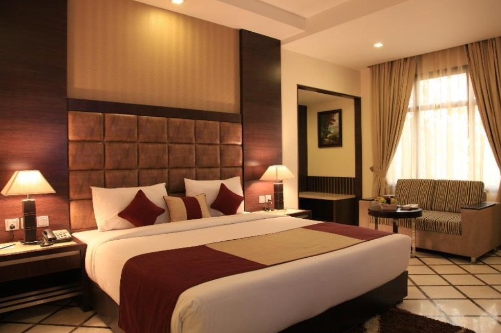 """Delhi, """"Hotel Florence"""", die Zimmer neu und mit allem Komfort"""