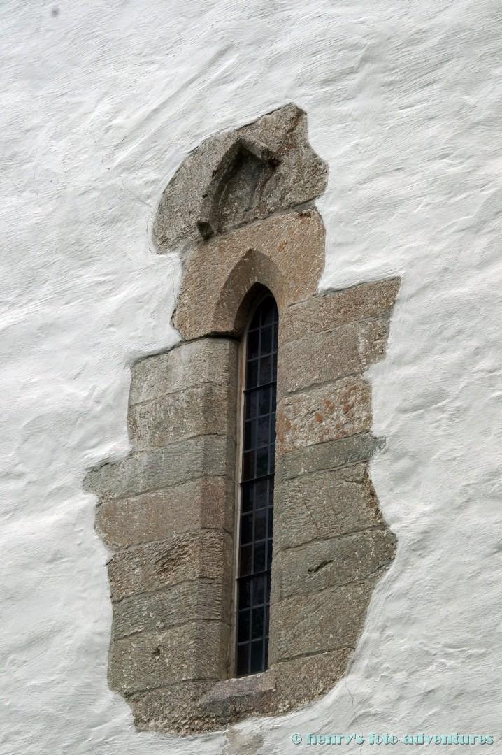 altes gotisches Fenster