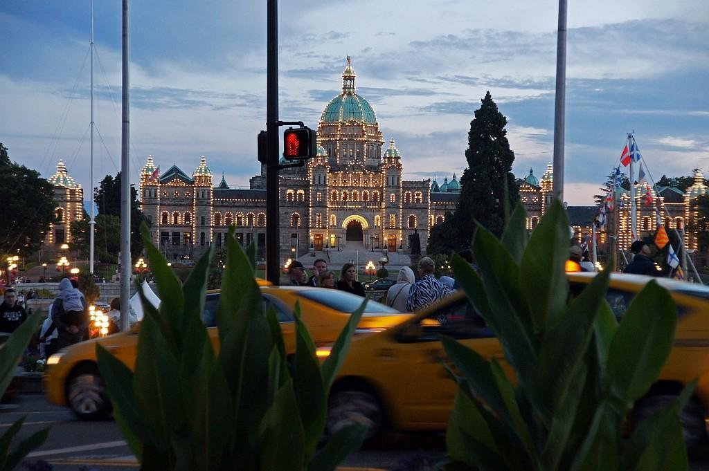 Parlament beleuchtet
