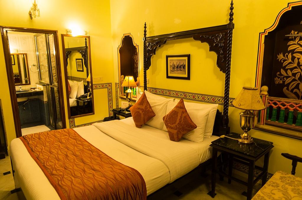 """Jaipur, """"Hotel Umaid Bhawan"""", 1a Zimmer und eine Dachterasse mit Restaurant"""