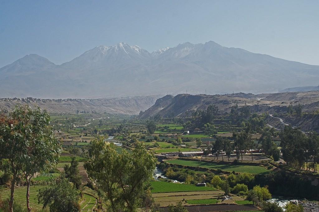 Blick vom Aussichtsberg Arequipas
