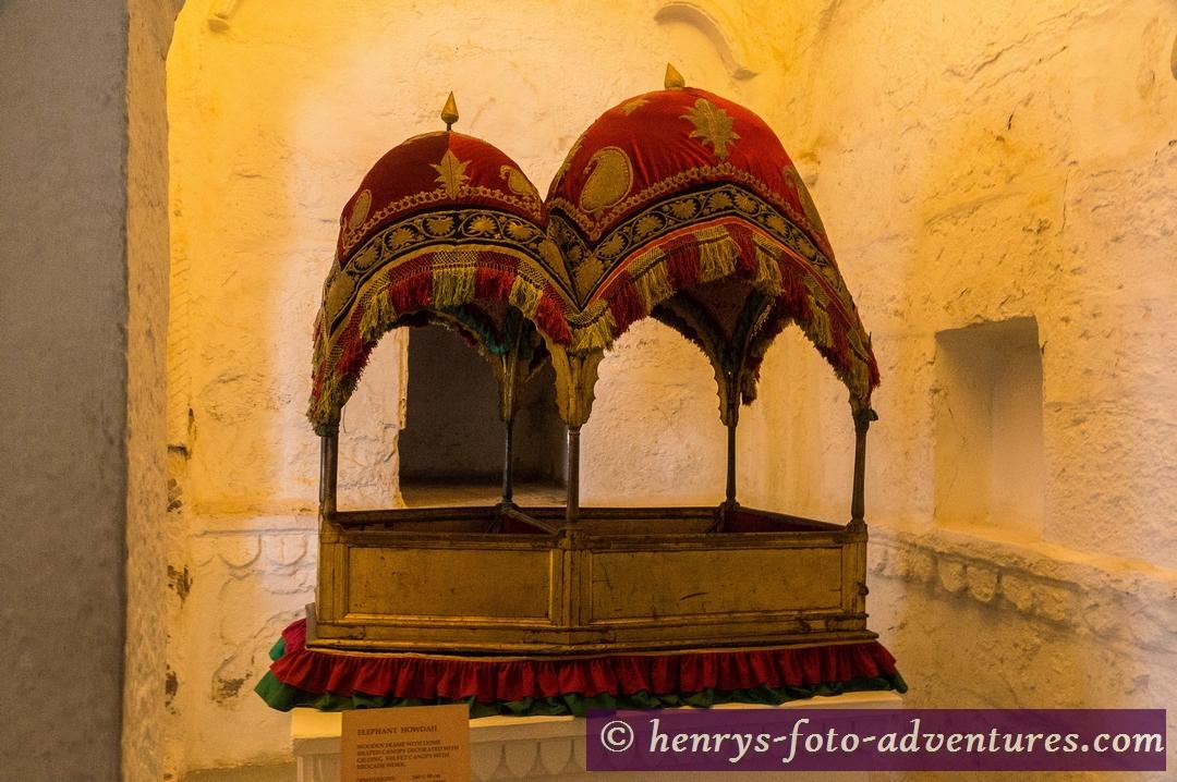 eine Sänfte für den Maharaja