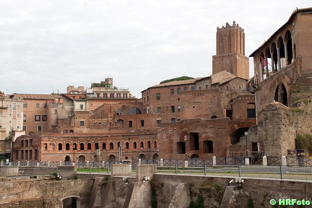 die Markthallen des Traiano