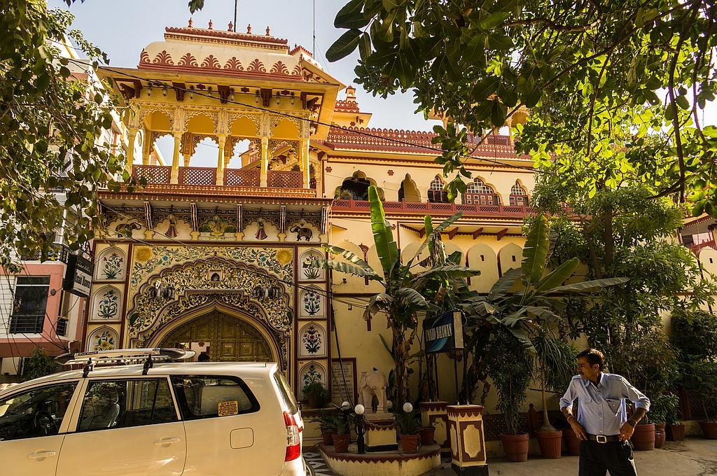 "Jaipur, ""Hotel Umaid Bhawan"", neu, aber wundervoll im Heritage-Stil gebaut"