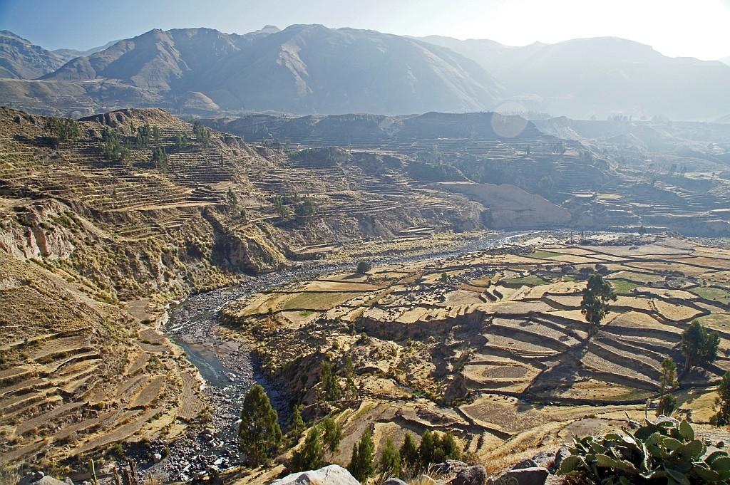 Blick ins Colca Tal