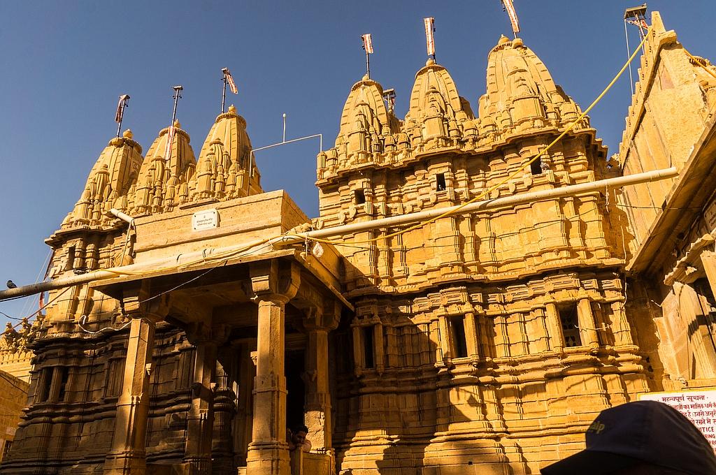 der eindrucksvolle Jain-Tempel