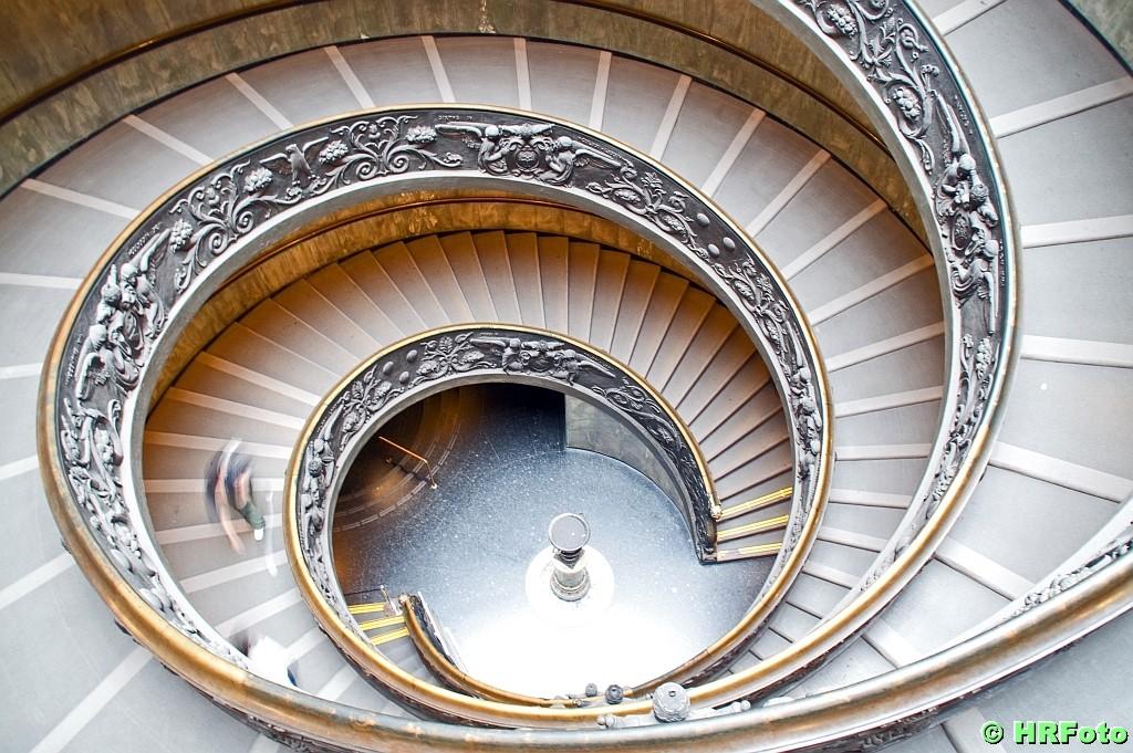 die doppelte Spiraltreppe
