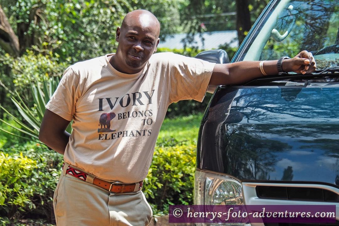 Ben Macharia - Owner, Manager, Driver und Guide ******