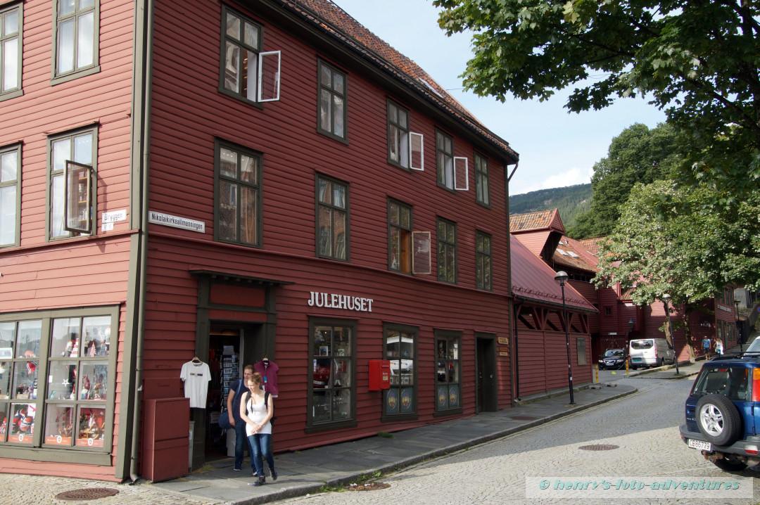 Bryggen, das alte Hanseviertel