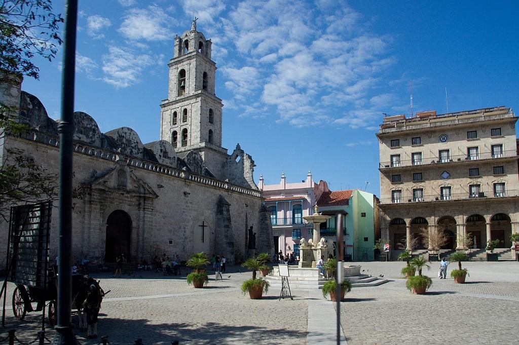 im Zentrum Havanas