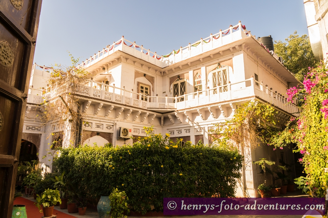 """Jodhpur,  """"Kothi Heritage"""", eines der beliebtesten Gäste-Häusern"""