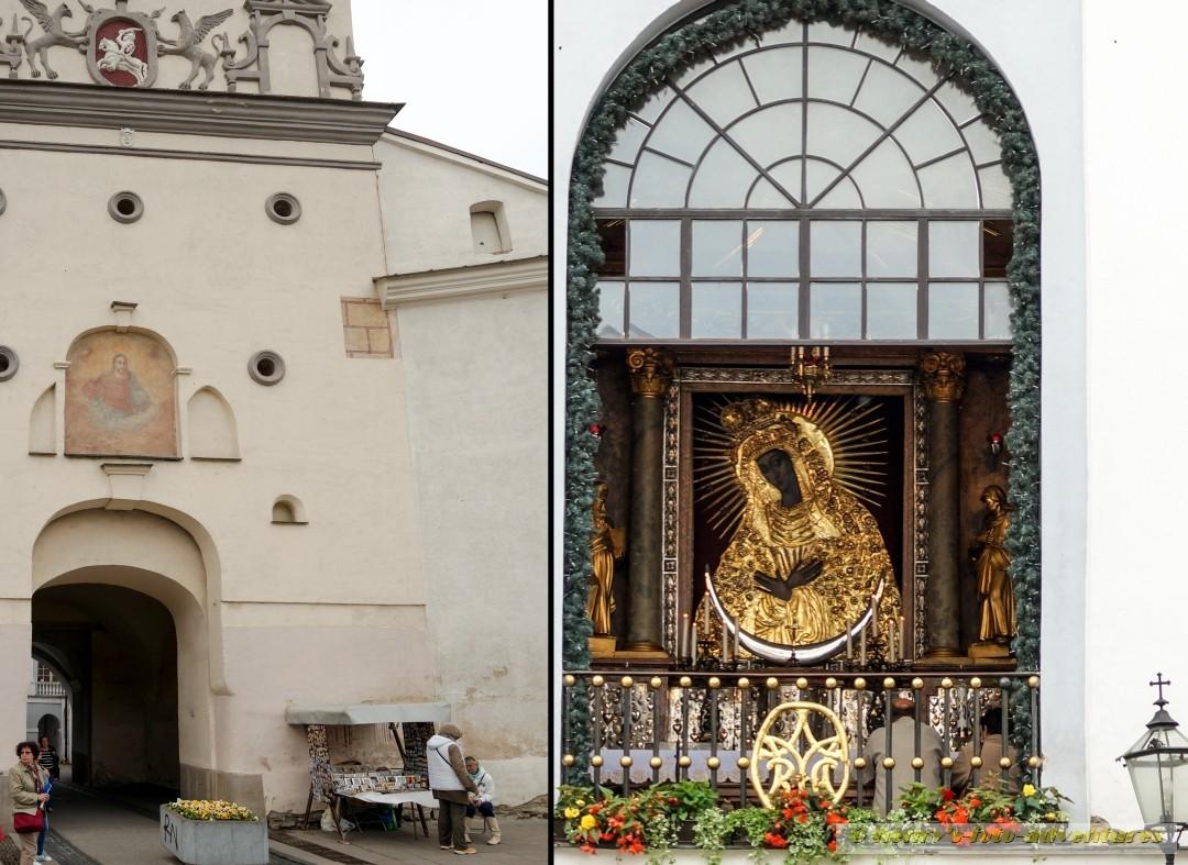 es beherbergt eine Kapelle mit einem Marienikone aus dem 16. Jh.