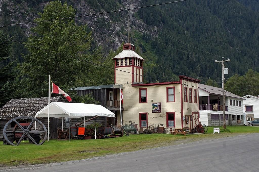 das alte Feuerwehrhaus, heute ein Museum