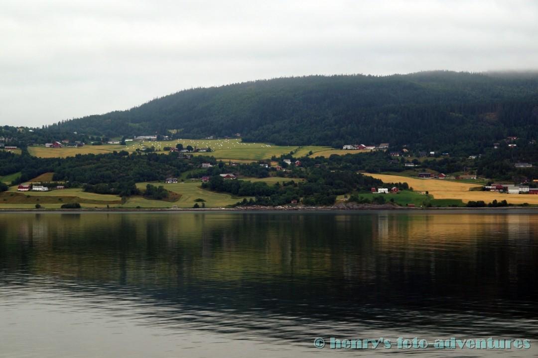 08:20 - Einfahrt nach Trondheim