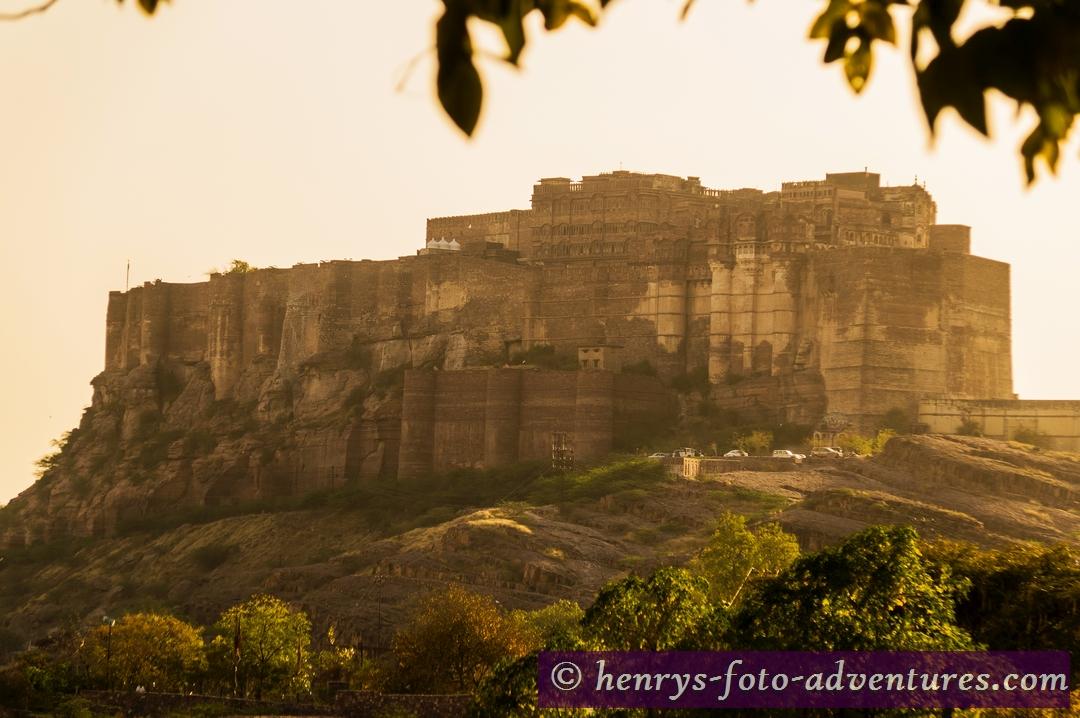 das Mehrangarh Fort in Jodhput