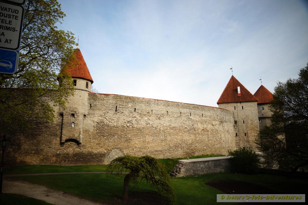 die obere Stadtmauer