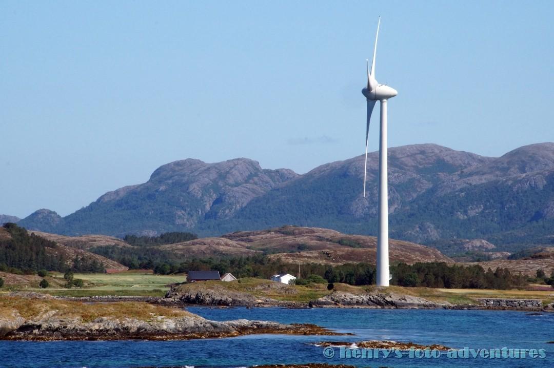 Windkraft, viele Orte sind dadurch Selbstversorger bei der Stromerzeugung