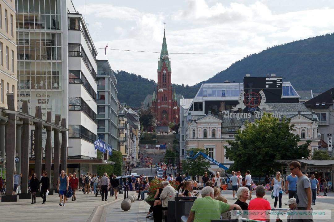 das moderne Bergen