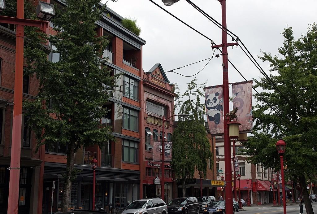 CHINA TOWN, das Chinesische Viertel