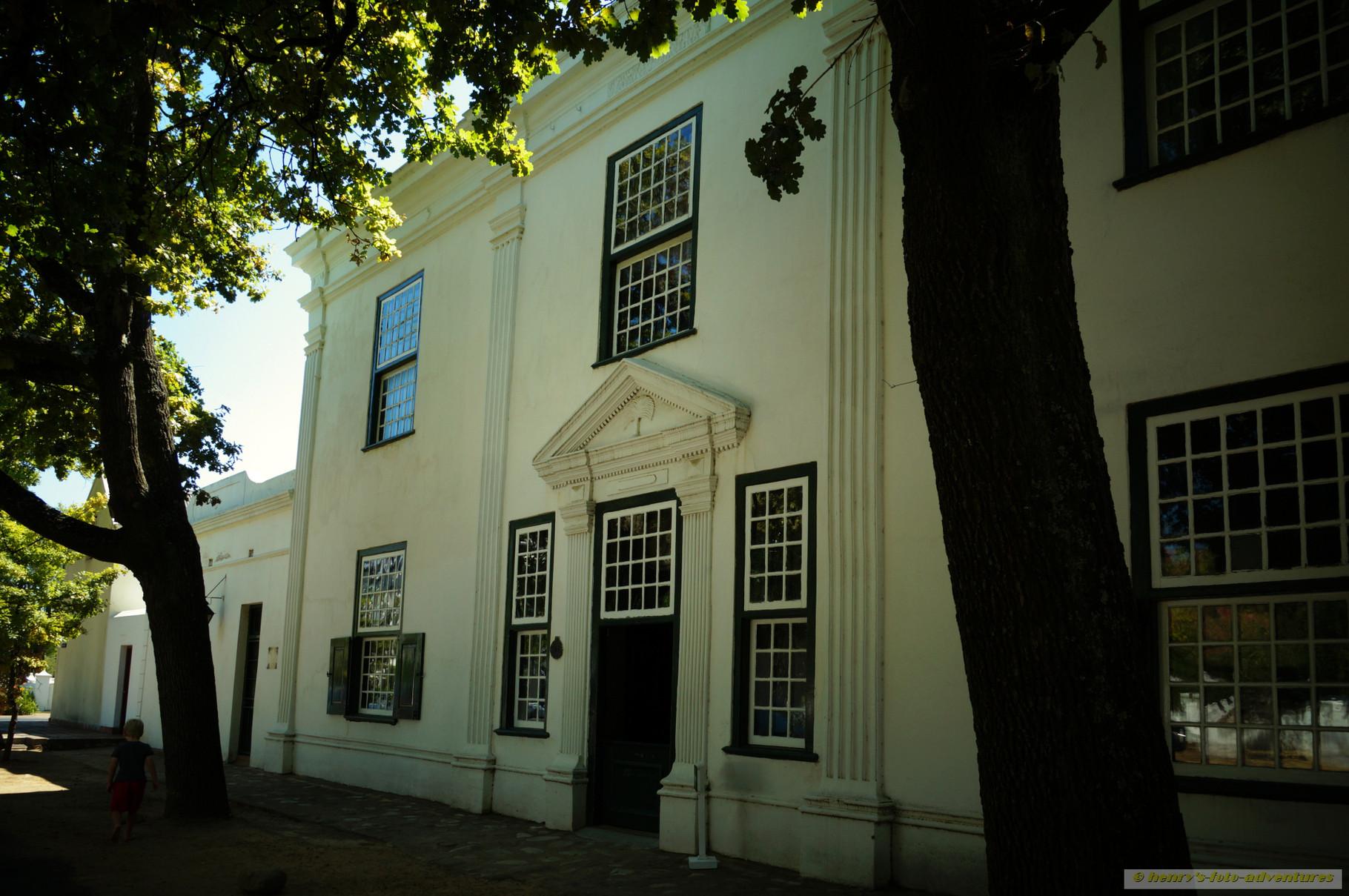 ein altes Herrenhaus - jetzt ein Museum