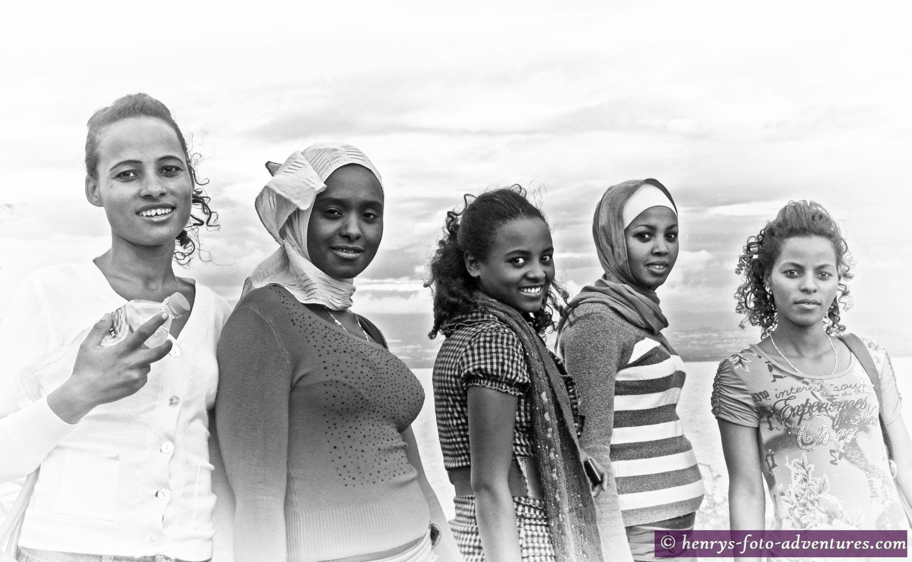 Studentinnen aus Addis Abeba in unserer Lodge