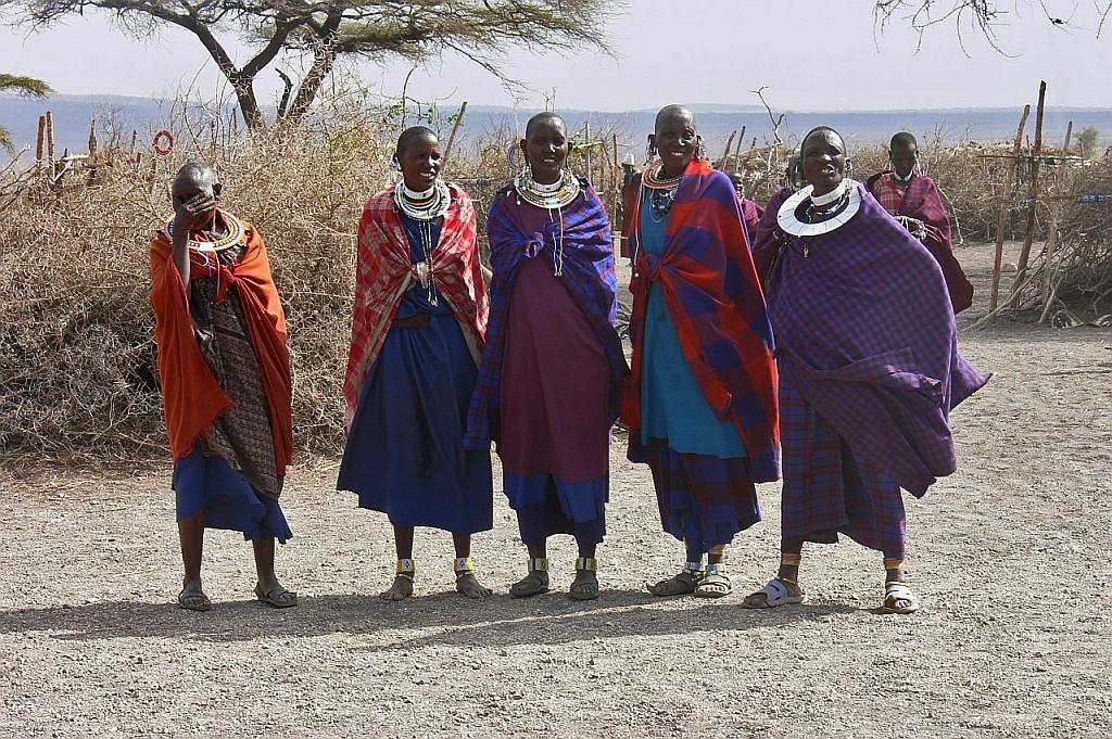 Massai-Schönheiten